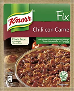 Knorr Fix chili with beans (Chili con Carne) (Pack of 4)