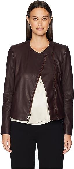 c9f651c0426f7 Leather Cross Front Jacket. Like 4. Vince. Leather Cross Front Jacket.   995. Raewyn Sherpa Suede Ladies Fun Little Jean Jacket