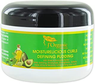 J'Organic Solutions Moisturelicious Curls Defining Pudding (for all hair type) with Shea & Avocado Butter & more