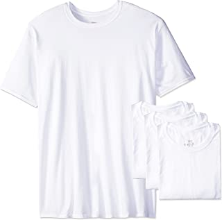 Hanes Ultimate Men's Big 4-Pack Tall Man FreshIQ Crew Neck Tee