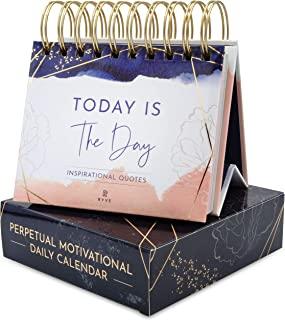 تقویم انگیزشی RYVE - تقویم روزانه تلنگر با نقل قول های الهام بخش - دکوراسیون میز تحریر زنانه ، دکوراسیون دفتر کار زنانه ، هدایای انگیزشی زنانه ، لوازم میز تحریر زنانه
