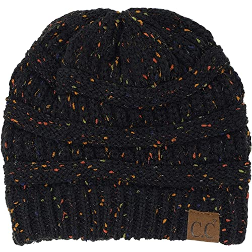 489d7bd2650 Funky Junque Confetti Knit Beanie - Thick Soft Warm Winter Hat - Unisex