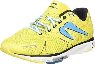 Newton Running Women's Distance V Yellow/Blue Sneaker 5 B (M)