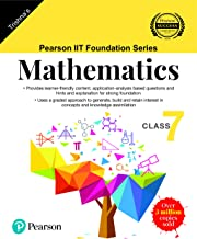 Pearson IIT Foundation Series - Maths - Class 7 (Old Edition)