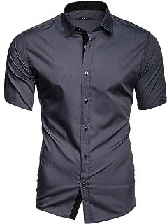 Amazon.es: Gris - Camisas casual / Camisetas, polos y camisas: Ropa