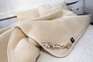 Exclusive overblanket couette tumbler 100/% laine mérinos overblanket 140 x 200 cm