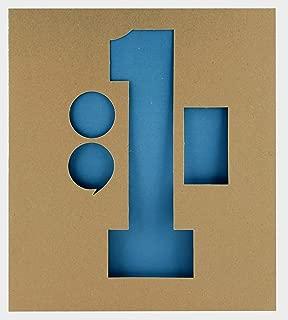 Headline Sign 111 Stencil Set, 12-Inch Numbers 0-9 (111)