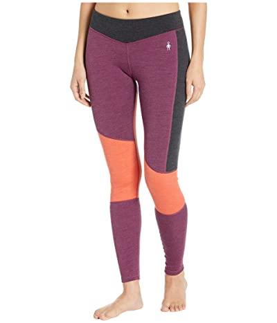 Smartwool Merino 250 Asymmetrical Bottoms (Sangria Heather) Women