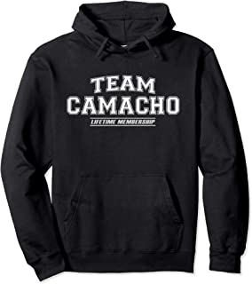 Team Camacho | Proud Family Surname, Last Name Gift Pullover Hoodie