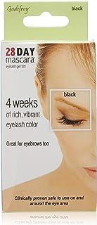 Godefroy 28 Day Mascara Permanent Eyelash and Eyebrow tint Kit Single (Black)