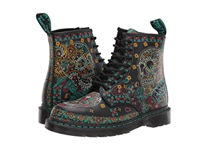 Dr. Martens 1460 Skull (Multi Day of the Dead Backhand) Shoes