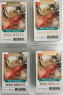 Aromance Flower Bouquet Wax Melts, Pack of 4