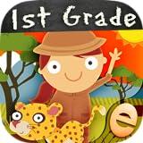 スキルを持つ子供のための動物一年生の数学のゲーム:最高の幼稚園、男の子と女の子のための第一及び第二級数字、カウント、加算と減算活動ゲーム