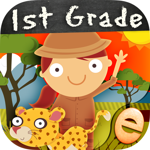 Animal Math First Grade Math Games for First Grade and Early Learners...