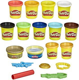 Play-Doh Pirate Theme 13-Pack of Non-Toxic Modeling...