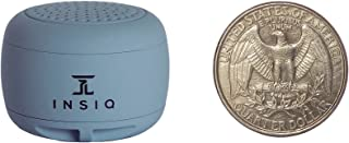 World's Smallest Portable Bluetooth Speaker - Great Audio Quality for its Size - 30+ Feet Range - Photo Selfie Button Answer Phone Calls Compact Compatible with Latest Phone Software (Gray)