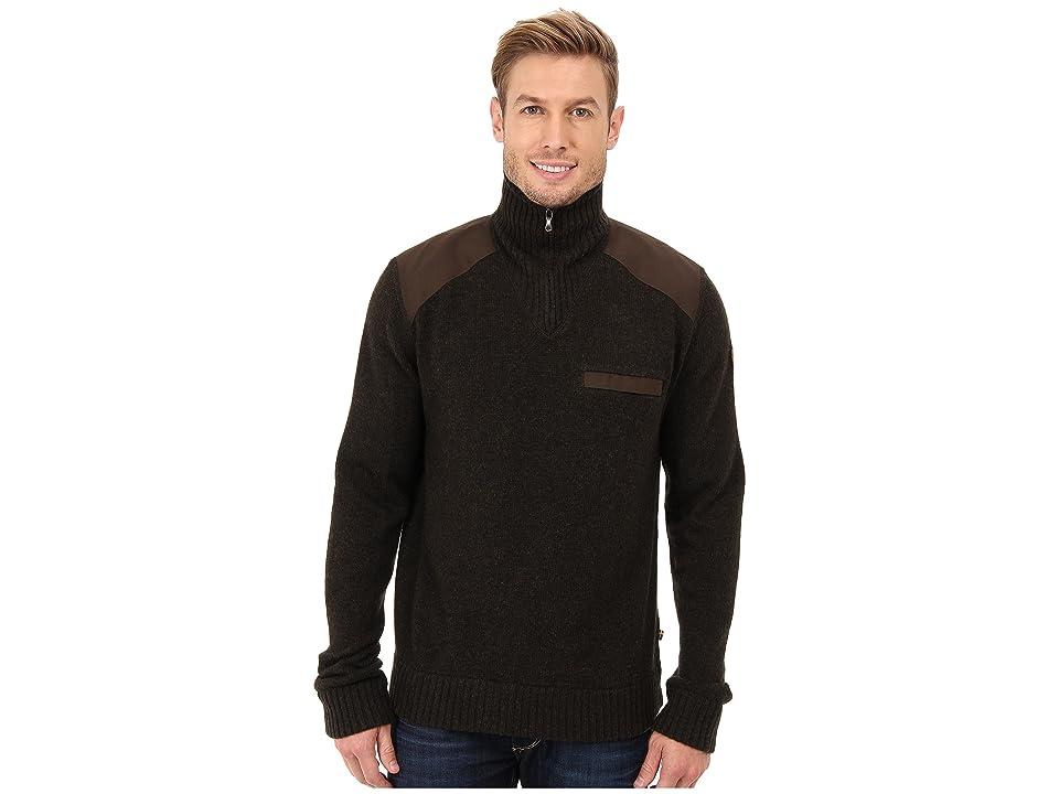 Fjallraven Koster Sweater (Dark Olive) Men