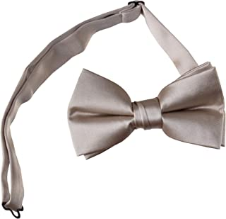 Pre Tied Bow Ties with Adjustable Neck Strap Kids and Adult Sizes in Several Colors