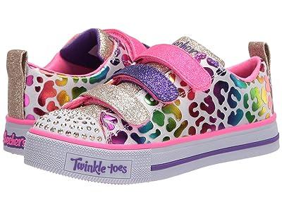 SKECHERS KIDS Twinkle Toes Twinkle Lite 20301L (Little Kid/Big Kid) (White/Multi) Girl