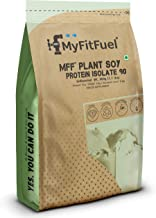 Myfitfuel Plant Soy Protein Isolate 90 (500 Gm Unflavored)