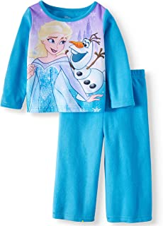 AME Toddlers Girls' Frozen 2-PC Pajama Set Blue Size 18M