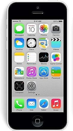 Apple iPhone 5C - Teléfono Desbloqueado - Empaquetado al por Menor, 8 GB, Blanco