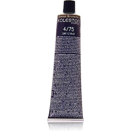 Wella Professionals Koleston - Tinte para cabello (60 ml), 4/75 Deep Browns castaño medio castaño-caoba