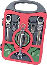 Chrome Flexible Ratchet Wrench Set - 7 PCS, Size: 8,10,12,13,14,17,19mm