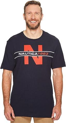 Nautica Big & Tall - Big & Tall Nautica Heritage Tee