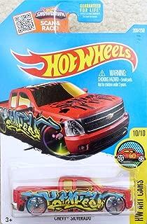 Hot Wheels, 2016 HW Art Cars, Chevy Silverado [Red] 200/250