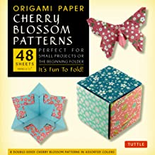 Origami Paper- Cherry Blossom Prints- Small 6 3/4