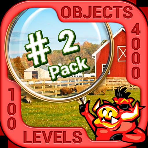 Pack 2 - 10 in 1 Hidden Object Games by PlayHOG