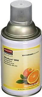 Rubbermaid Commercial Microburst 9000 Aerosol Air Freshener Refill, Mandarin Orange, FG402093