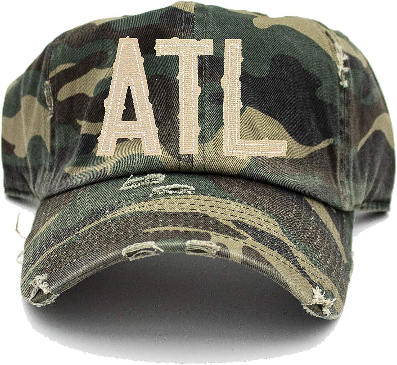 Ranking TOP5 Max 65% OFF ATL Camo Hat