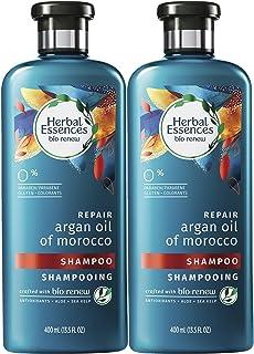 Herbal Essences Biorenew olio di argan del Marocco shampoo riparatore 382,7 g e balsamo 382,7g.