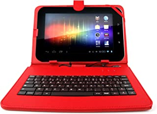 DURAGADGET Case with Micro USB French Keyboard for CnM Touchpad, Kocaso M1070, Flytouch Superpad 7,8 Android 4.0.3 1.2GHz 16GB GPS 1GB DDR3 APAD & Google Android 4.0 VC882 EPAD