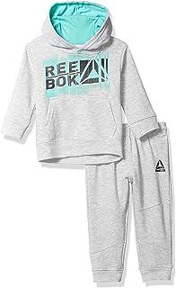Reebok boys Jacket and Sweatpant Set Pants Set