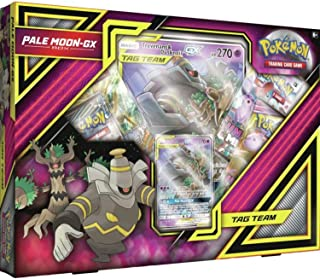 Pokemon TCG: Pale Moon-Gx Box + 4 Booster Pack + A Foil Promo Card + A Oversize Foil Card