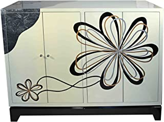 Casa Collection/Art for Living by Jänig 11469 aparador Moderno Flower con 4 Puertas 102 x 122 x 45