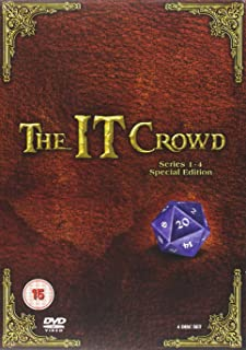 The IT Crowd - Series 1-4 Special Edition Box Set [DVD] (REGION 2, UK VERSION)