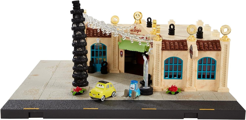Disney Pixar Cars Max 88% OFF Precision Series Casa Luigi's Max 87% OFF Della Play Tires