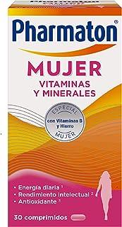 Pharmaton   Multivitaminas   Energía diaria   Mujer 30 comprimidos   Ayuda a las mujeres a mantener su vitalidad cada día