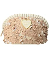 Betsey Johnson - Large Ruffle Cosmetic