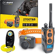 Dogtra 2700T&B / 2702T&B Remote Training and Beeper Collar - 1 Mile Range, Fully Waterproof, Rechargeable, Shock, Vibration - Includes PetsTEK Dog Training Clicker