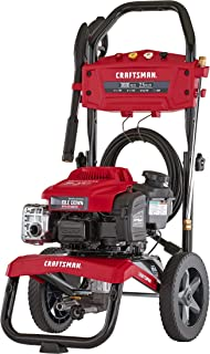 CRAFTSMAN CMXGWAS021022 3000 MAX PSI 2.5 MAX GPM Gas Pressure Washer Powered by Briggs & Stratton 190cc Engine with Idle Down Technology, Made in USA with Global Materials