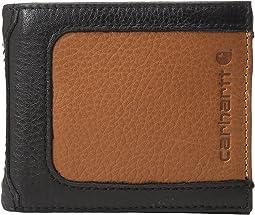 Carhartt - Black & Tan Billfold Wallet