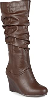 Best journee collection womens slouchy round toe boots Reviews