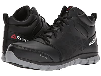 Reebok Work Sublite Cushion Work Mid EH (Black) Men