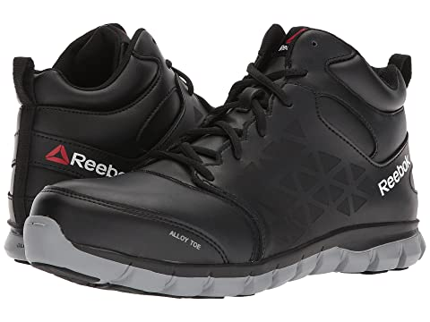 f32bf026a1db36 Reebok Work Sublite Cushion Work Mid EH at Zappos.com