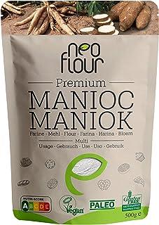 Premium Harina de Yuca (Mandioca) - 100% Natural y Sin